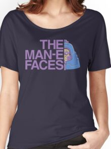 The Man-e-Faces Women's Relaxed Fit T-Shirt