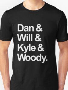 Bastille names T-Shirt