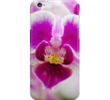 Mini Magenta Phalaenopsis iPhone Case/Skin