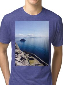 Island Out At Sea Tri-blend T-Shirt