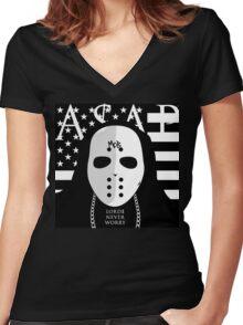 asap Women's Fitted V-Neck T-Shirt