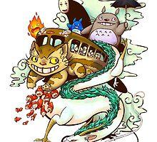Ghibli world by Dustinb
