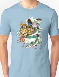 Ghibli world Unisex T-Shirt