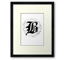 beartooth logo Framed Print
