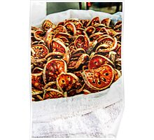 Dried vegetables Poster