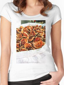 Dried vegetables Women's Fitted Scoop T-Shirt