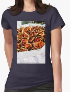 Dried vegetables Womens Fitted T-Shirt
