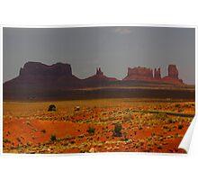 Monument Vally, Utah, USA Poster
