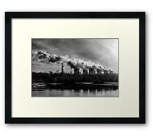 Polluters Framed Print