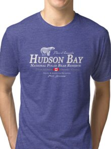 Hudson Bay Polar Bear Tri-blend T-Shirt