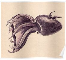 Squid, The Vampire Poster