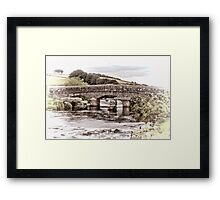Bellever Bridge  Framed Print