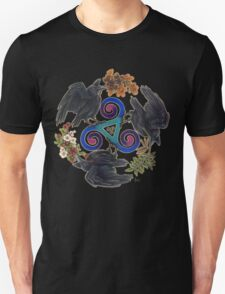 Raven Fey - Triskele Unisex T-Shirt