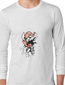 Earthworm jim...EAT DIRT!! Long Sleeve T-Shirt