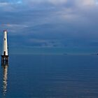 Light House Port Melbourne. by David Toolan