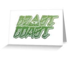 beast coast Greeting Card