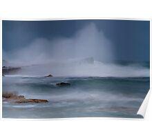 Storm Surf Poster