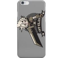 1ST CLASS SOLDIER alt. ver. iPhone Case/Skin