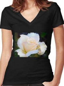 Beauty simplified Women's Fitted V-Neck T-Shirt