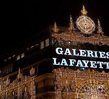Galeries Lafayette in Paris by Pat Garret