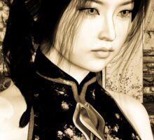 Asian Beauty Sticker