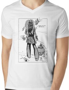 Dystopia 06 Mens V-Neck T-Shirt
