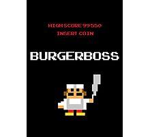 burger boss arcade Photographic Print