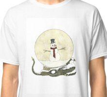 Dragon Snoman Snowglobe Classic T-Shirt