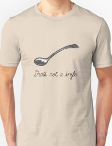 The treachery of cutlery Unisex T-Shirt