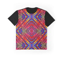 Colored X Graphic T-Shirt