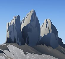 Dolomiti: le tre cime di Lavaredo by elenab