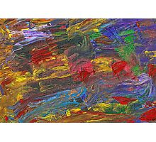 Abstract - Acrylic - Anger Joy Stability Photographic Print