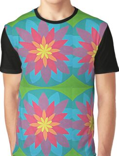 Rainbow Mandala Graphic T-Shirt