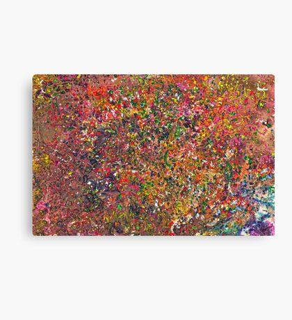Abstract - Crayon - A Genuine Fiasco Canvas Print