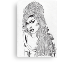 AMY WINEHOUSE Canvas Print