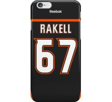 Anaheim Ducks Rickard Rakell Jersey Back Phone Casey iPhone Case/Skin