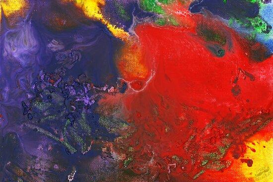 Abstract - Crayon - Andromeda by Mike  Savad