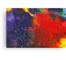 Abstract - Crayon - Andromeda Canvas Print
