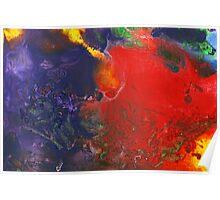 Abstract - Crayon - Andromeda Poster