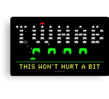 Space Invaders TWHAB Canvas Print