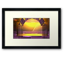 Art Makes You Free Framed Print