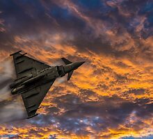 Typhoon Eurofighter by Paul Madden