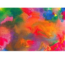 Abstract - Crayon - Melody Photographic Print