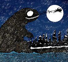Winter Sea Monster by djrbennett