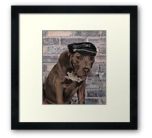 Tough Boy Framed Print