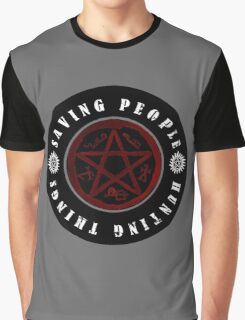 Saving people and hunting things! Graphic T-Shirt