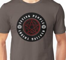 Saving people and hunting things! Unisex T-Shirt