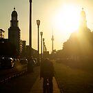 Sunset, Friedrichshain by Nick Coates