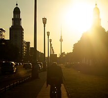 Sunset, Friedrichshain by Nicholas Coates