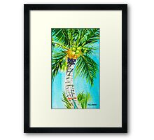 Where the Hammock Sways Framed Print
